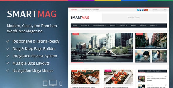 Responsive WordPress Themes Liste